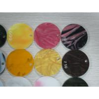 Round Shapes Custom Size Colored Acrylic Sheets 2 To 25mm Thickness Manufactures