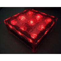 China Stone Garden Brick Lamps Outdoor Led Solar Ice Brick Lights With CE&ROHS Certificate And Factory Price on sale