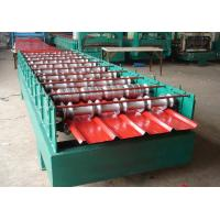 5.5KW Secret Joint Roof Panel Roll Forming Machine Hydraulic Cutting With CE Manufactures