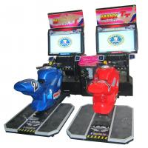 China Dynamic Electronic Car Racing Arcade Machine 172 * 207 * 100CMM MR-QF001-2 on sale