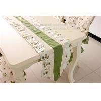 Buy cheap Linen cotton fabric table runners with tassel, custom fabric table runners with from wholesalers