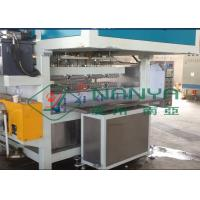 Recycling Paper Double Roller Egg Carton / Egg Tray Pulp Moulded Machine 1 Year Warranty Manufactures