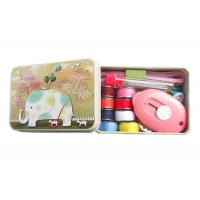 Helpful Sewing Kits For Adults , Emergency Sewing Kit With Metal Box 11 Contents Manufactures