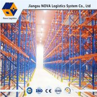Durable Drive Through Racking System Industrial Metal Storage Racks Automation Control Manufactures