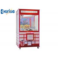 China LED Doll Grabbing Machine , Children'S Sweet Grabber Machine Stable Game System for sale