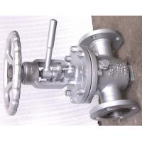 China OS & Y Lift Plug Valve , Bolted Bonnet Valve Hard Seat Non - Lubricated on sale