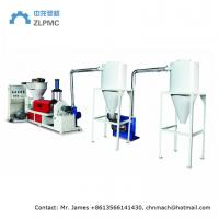 Air Cooling Plastic Granulator Machine Speed Control Hot Cutting For PE Material Manufactures
