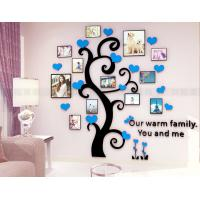 Acrylic Photo Frames wall Family Tree Stickers 3d Three-dimensional Wall sticker home dercor Living room TV Sofa Wall Manufactures