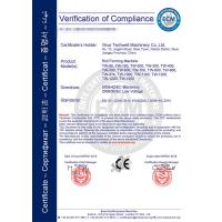 Wuxi Techwell Machinery Co., Ltd Certifications