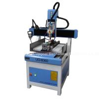 Quality 3D CNC Metal Engraving Machine 4 Axis with DSP A18 Control UG-6060 for sale