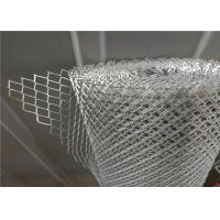 Heavy Stainless Steel Expanded Metal Mesh Strong Tensile Strength Manufactures
