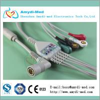 China COLIN ecg cable,one-piece ecg cable,material TPU on sale