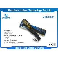 China High Sentivity IP31 Hand Held Metal Detector Wand For Security Checking on sale