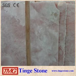 good price pink onyx slab/ pink marble slab/ pink marble stone Manufactures