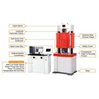 Professional Servo Hydraulic Testing Machine 250mm Max Piston Stroke Manufactures