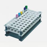 China 13mm, 16mm,18mm Plastic Test Tube Rack For Medical Laboratory Devices WL13026 on sale