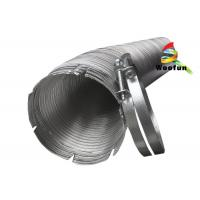 Quality High Performance Semi Rigid Aluminum Flexible Duct for Dryer Ventilation for sale