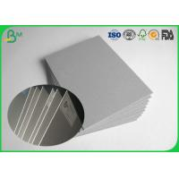 China FSC Certificated 1.0mm Or Other Thickness Grey Chopboard , Grey Carton Boxes on sale