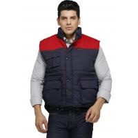 Two Tone Heavy Duty Work Vest/ Winter Safety VestWith Multi Storage Pockets Manufactures
