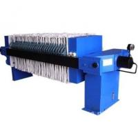 China Continuous Chamber Filter Press , Sludge Dewatering Equipment For Sludge Treatment on sale
