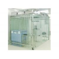 Movable Vertical Air Flow SoftWall Clean Room 304 Stainless Steel Cleanroom Manufactures