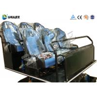Pneumatic / Hydraulic / Electronics Motion Theater Chair For 5D Cinema Theater Manufactures