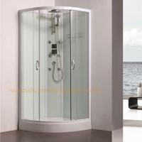 800 x 800mm quadrant shower enclosure sliding shower glass door with back jets Manufactures