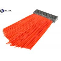 PP Bristle Industrial Brushes Road Sweepers Strip Cleaning Forklift Road Sweeping Manufactures