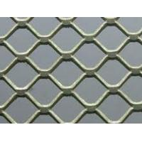 Mini-Holed / Standard / Heavy Plastic Soaked Stainless Steel Expanded Metal Plate Mesh Manufactures
