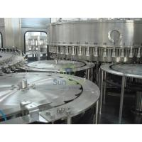 Jar Water Filling Machines With Capping Function , 2.25L / 5L / 6L Manufactures