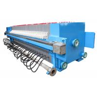 Quality Automatic Chamber Filter Press For Slurry Treatment , 2000L 1250 Mm Plate Size for sale