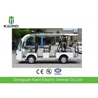Welded Tubular Steel Chassis 11 seater Electric Sightseeing Car Without Driving Licence Manufactures