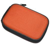 Thin Machine Mini Hard Case , Simple Orange Camera Hard Eva Travel Case Manufactures