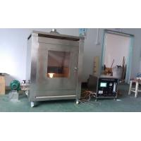 Steel Structure Fire Testing Equipment , Fireproof Coating Sample Test Furnace Manufactures