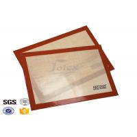 China Professional Non Stick Silicone Baking Mat Reusable LFGB Grade on sale