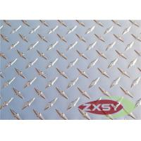 Color Brushed 1 Bar / 2 Bar Aluminum Checkered Sheet For Lighting Plate Manufactures