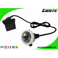 Waterproof IP67 LED Mining Light 10000Lux Rechargeable Li - Ion Battery Pack Manufactures