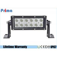 7.5 Inch 36W LED Car Light Bar With Screws CREE Led Spot / Flood Beam Manufactures