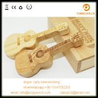 Wooden violin shaped usb flash drive bulk items pen drive cheap usb drives Manufactures