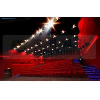 4D movie theater , thrilling movie , drastic movement of motion chair Manufactures