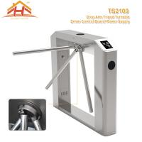 Little Power Access Control Turnstile Barrier Silent Operation Compact Designed Manufactures
