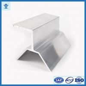 Aluminum Extrusion for Solar Panel Bracket, Industrial Aluminum Profile Manufactures