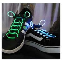 Yellow Nylon LED Flashing Shoelace Manufactures