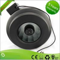 Low Noise Sheet Metal Inline Centrifugal Fan For Equipment Cooling Manufactures