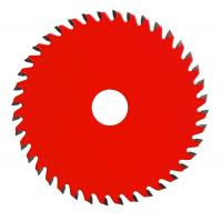 Red Carbide Steel TCT Saw Blade Cut Off , Sharpening Circular Saw Blades For Wood Manufactures