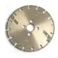 High Sharpness Diamond Cutting Blade , Concrete Cutting Blades For Angle Grinder Manufactures
