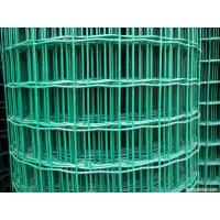 Garden Curvy Dutch Welded Wire Mesh , Green PVC Coated Holland Fence Manufactures