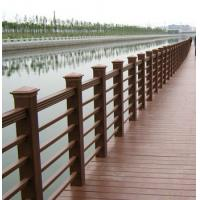 Brown WPC Decking Flooring and Wood Plastic Composite Outdoor Fence Manufactures