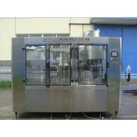 China 3 in 1 Bottle Filling Equipment / Line For Beer , Wine , Pressure Filling , 10000bph on sale