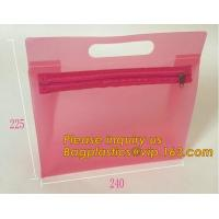 China Fashion ladies travel bags PVC makeup Bag Pouches Tote Clear Transparent Cosmetic Travel Bag For Sale bagplastics bageas on sale